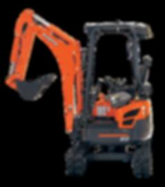 Kubota 1.7t Excavator Hire