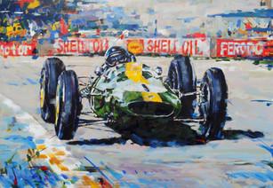 Lotus 25 (Jim Clark 1965) V-067-13 42.5x