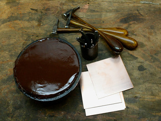 Chasing and repousse workshop supplies