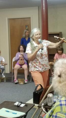 Jeannie singing