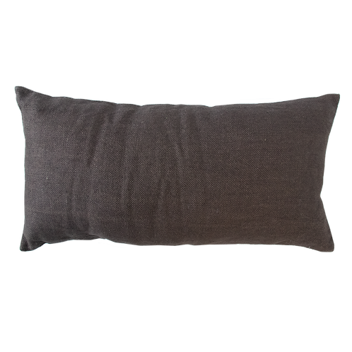 Urban Nature Culture Cushion Jute Slate Black 80*40cm