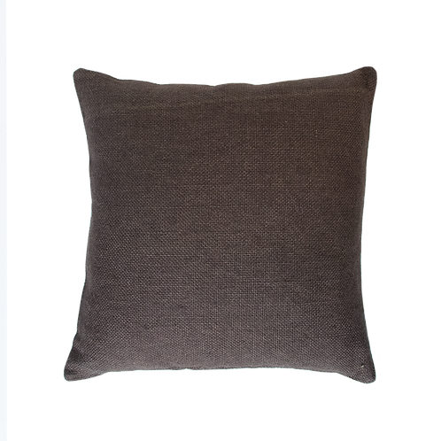 Urban Nature Culture Cushion Jute Slate Black 45*45 cm