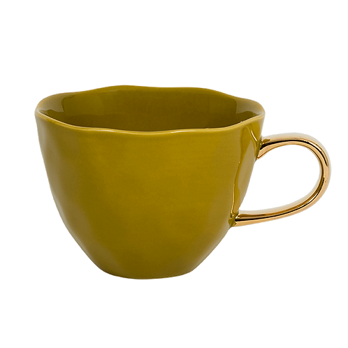 Good Morning Cup Amber Green