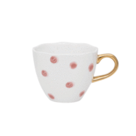 Good Morning Cup Mini Small Dots Cameo Brown
