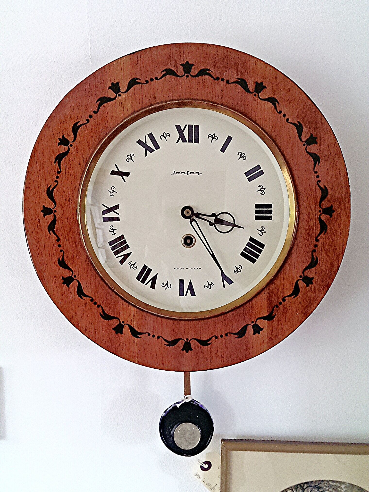 Russian wall clock choice image home wall decoration ideas alfredos emporium vintage russian wall clock vintage russian wall clock amipublicfo choice image amipublicfo Images