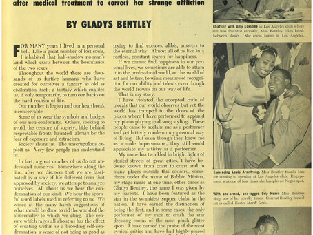 I Am a Woman, Again.                                   Gladys Bentley's REAL Story