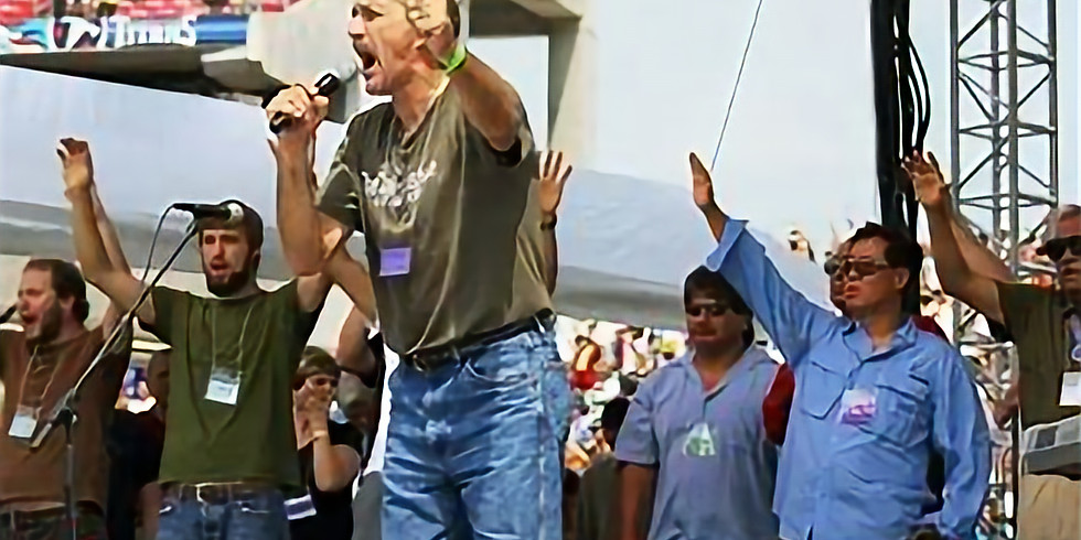 FREEDOM MARCH BOSTON with LOU ENGLE!