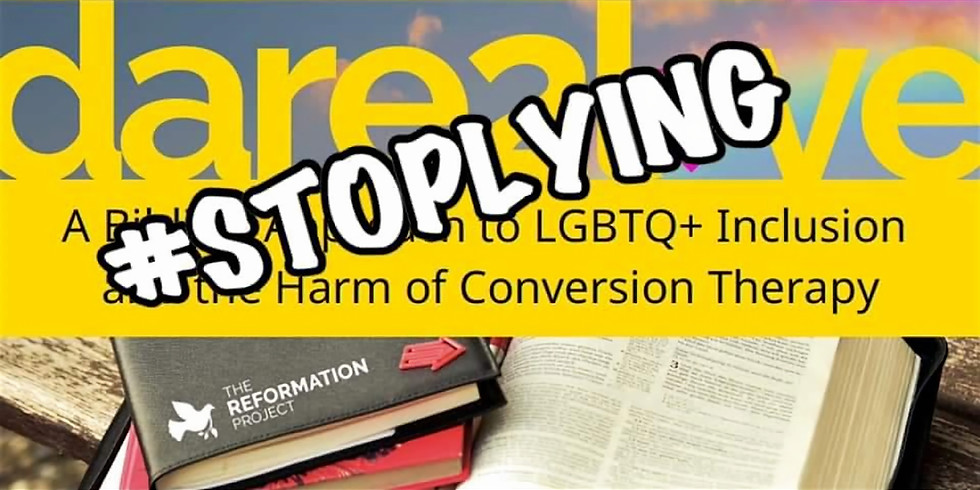 STOP LYING Campaign Event