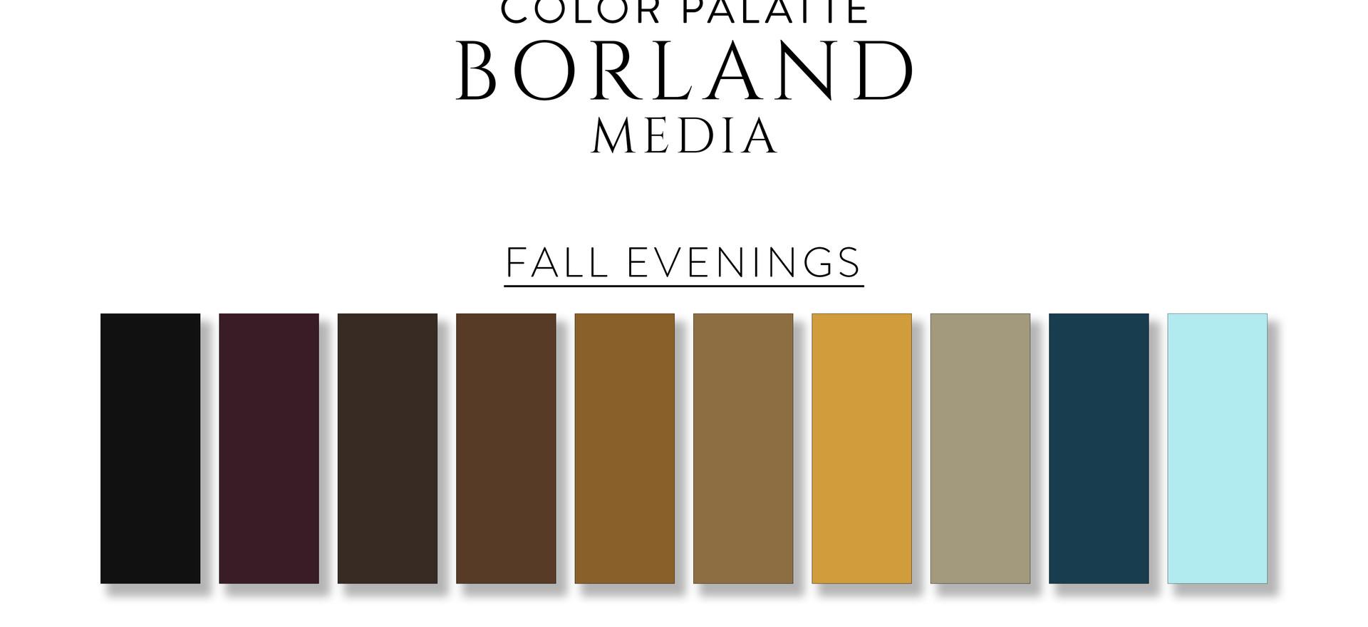 Fall Evenings