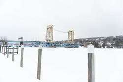 Portage In Snow