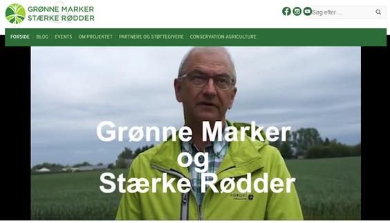 "Ny hjemmeside: ""Projekt Grønne Marker og Sunde Rødder"""