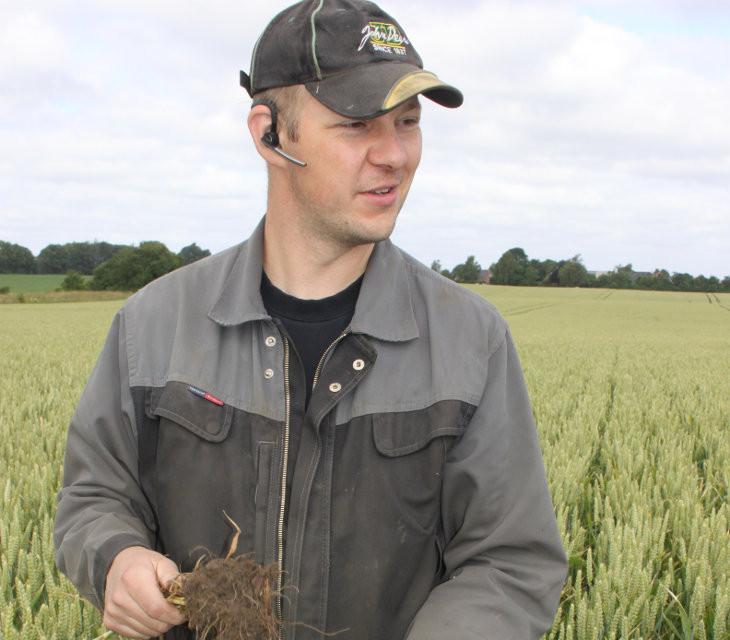 Jacob Justesen, Siljebjerggård Svineproduktion har flere års erfaring med direkte såning. Hør hans erfaringer med Conservation Agriculture på Plantekongres 2018.