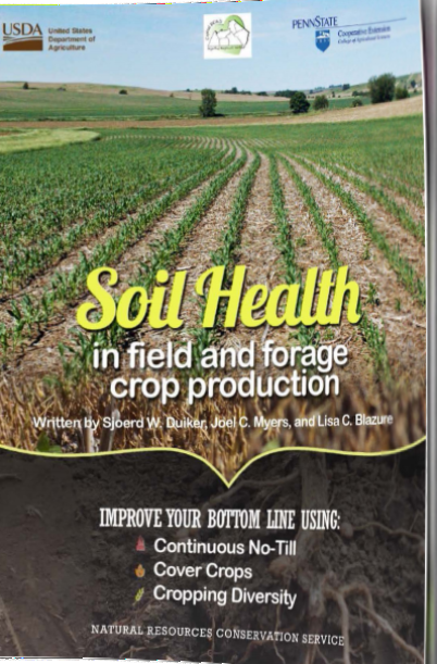"God gratis e-Bog: ""Soil Health in Field and Forage Crop Production"""
