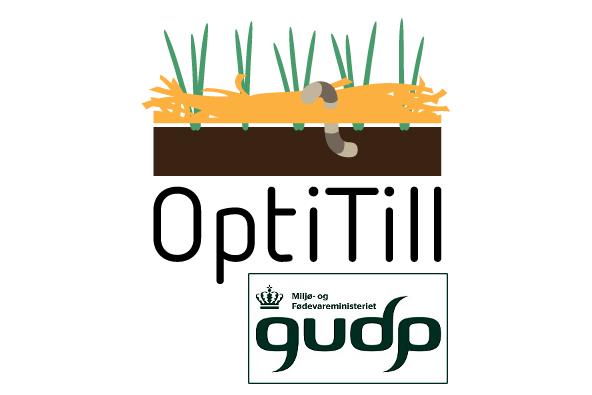 OptiTill projektet har modtaget GUDP midler fra Miljø- og Fødeministeriet