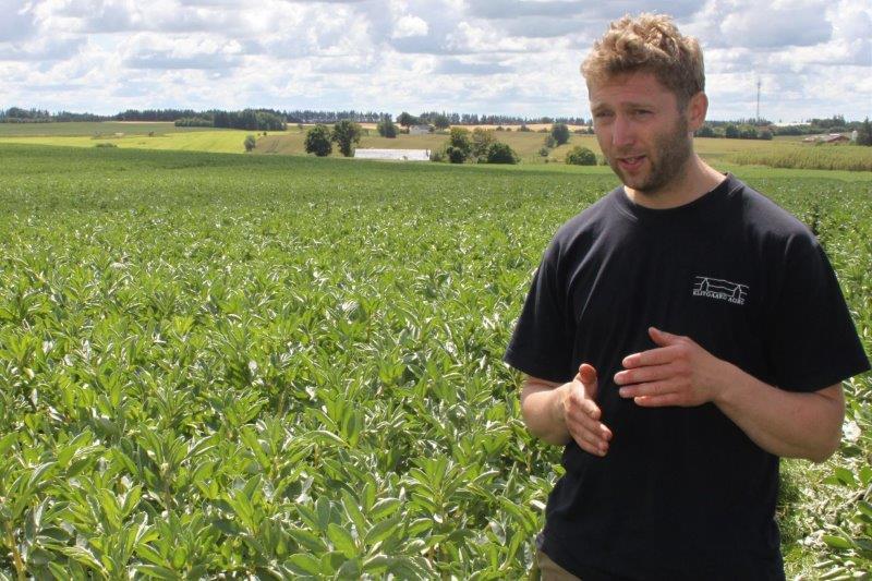 Landmand Søren Christensen fra Jerslev i Vendsysselvil på Plantekongressen tale om sine erfaringer med conservation agricutlure herunder, hvorfor der ikke er behov for at sprøjte mod skadedyr.