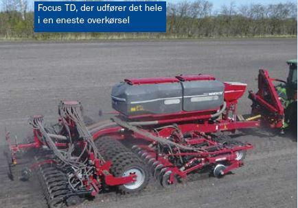 Uanset om man er til såning direkte i stub, efter harve eller efter plov har Horsch et seriøst bud på effektivt grej til såning af afgrøderne
