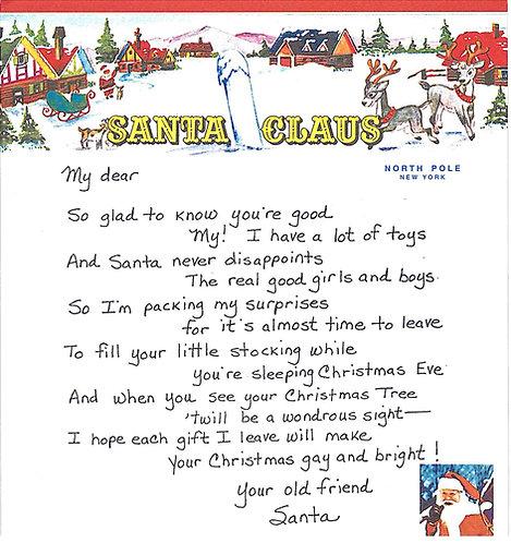 Santa Letter #2