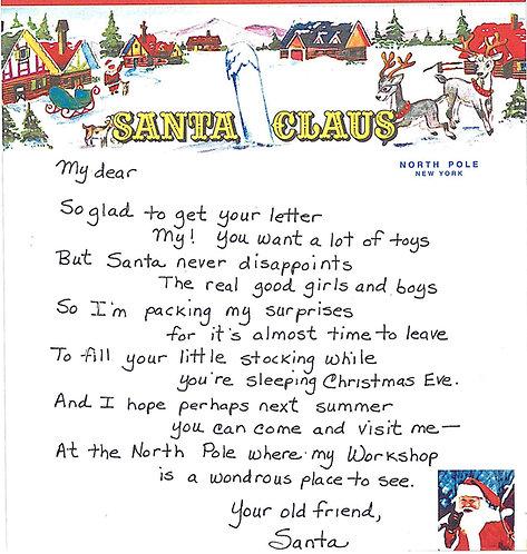 Santa Letter #3