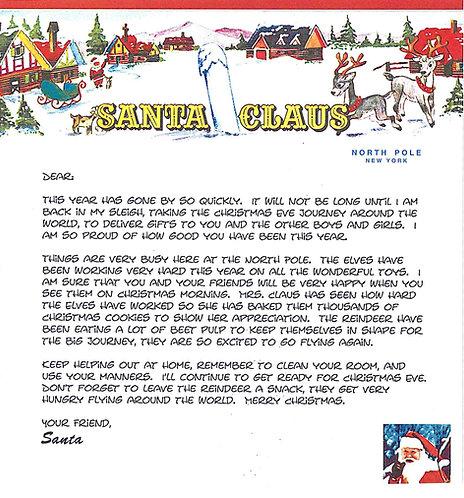 Santa Letter #5