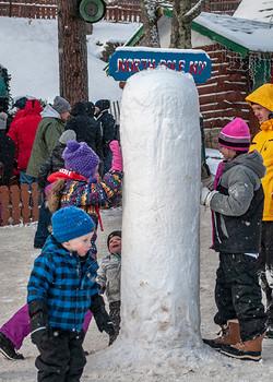 Frosty North Pole