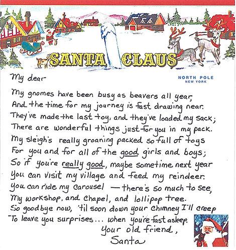 Santa Letter #4