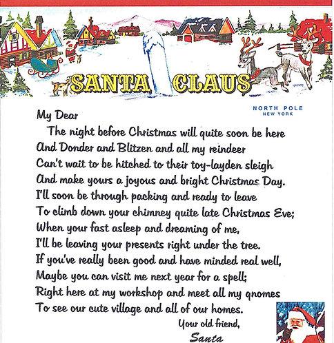 Santa Letter #6