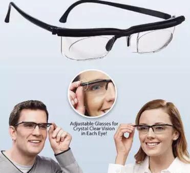 משקפי ראייה מתכווננות לקריאה וראייה מרחוק