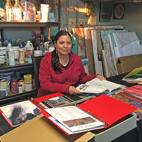 Great Basin Native Artists Archive Project with the Nevada Museum of Art, Reno, Nevada