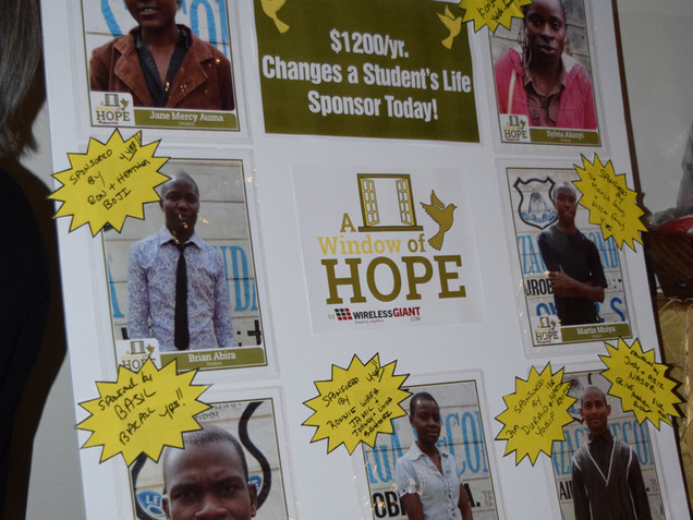 The Window of Hope 2014 Event