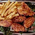 Breaded Chicken Wings;