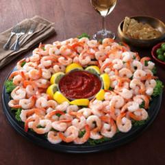 Classic Poached Shrimp