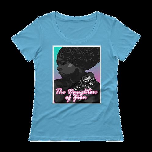 Daughters of Zion Ladies Sheer Scoopneck T-Shirt