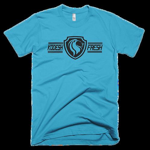 Lion Black Print LogoT-Shirt