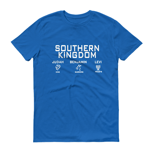 Southern Kingdom White Print T-Shirt