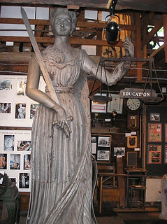 Sally Grant, Statue of Justice 1844