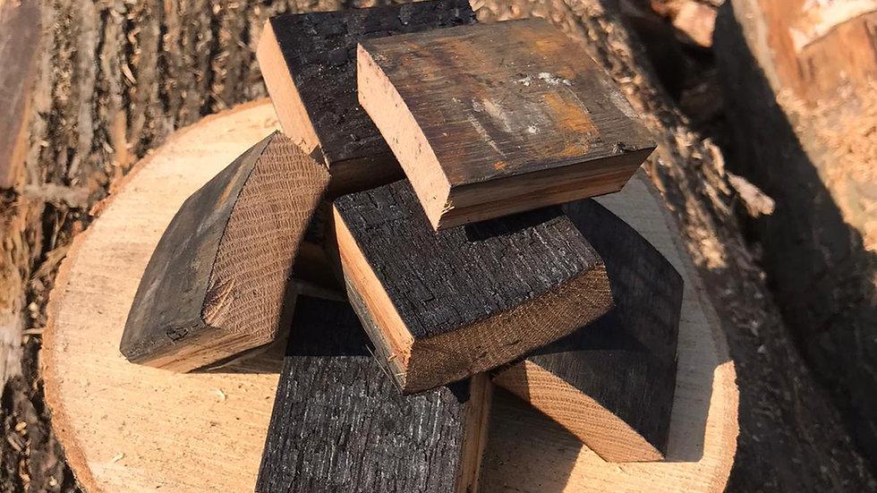 Scottish Whisky Oak Barrel BBQ Smoking Wood Chunks