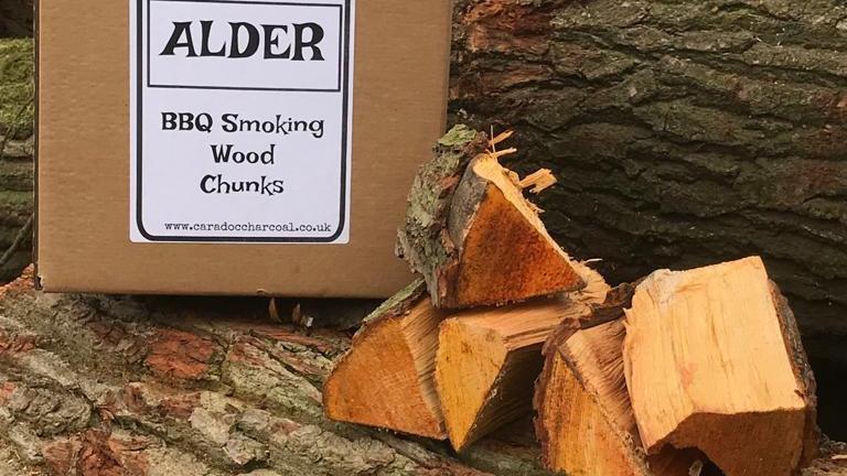 Alder BBQ Smoking Wood Chunks