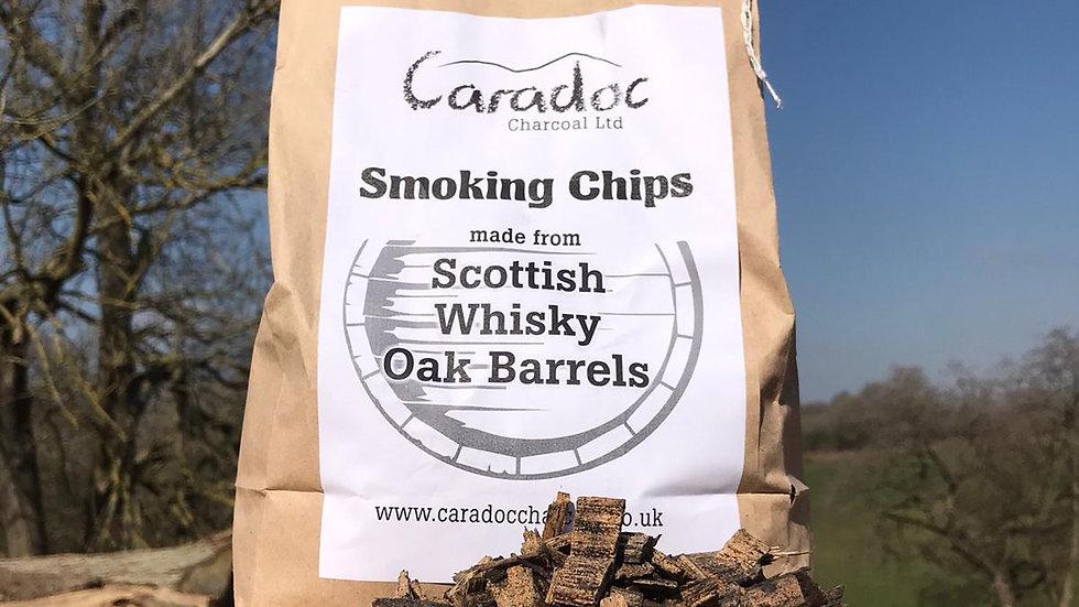 Scottish Whisky Oak Barrel Smoking Chips