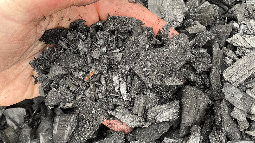 3kg Biochar mixed sizes