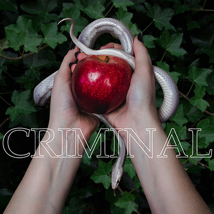 Ilona Mahieu Criminal cover artwork snake apple ivy eden