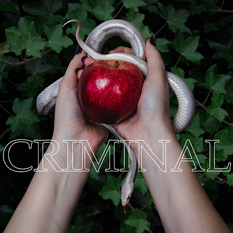 Criminal Cover Artwork Ilona Mahieu Snake Apple Ivy
