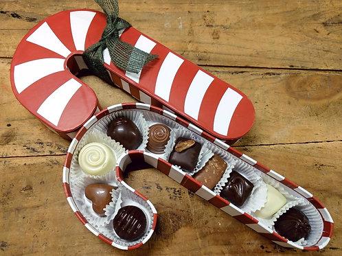Candy Cane - 10 Pc. Chocolates
