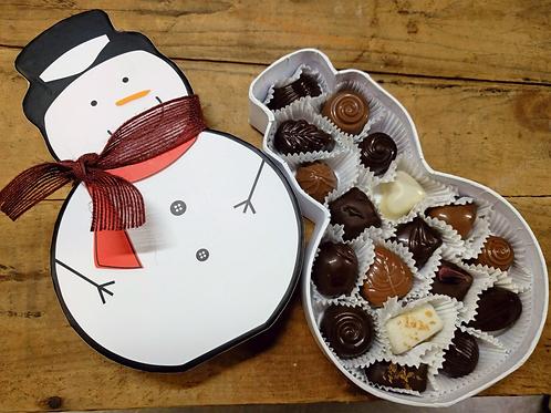 Snowperson Box -18 Pc. Assorted Chocolates