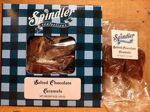 Salted Chocolate Caramels