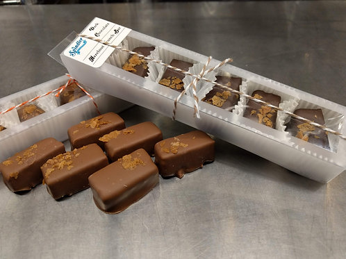 Hazelnut Crunch Bars