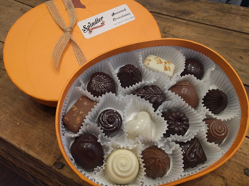 Pumpkin Box - 16 Assorted Bon Bons