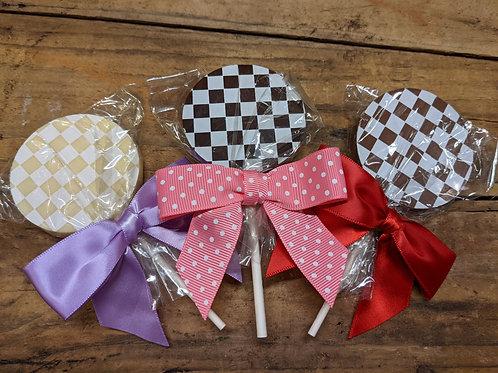 Classic Lollipop - Solid Chocolate