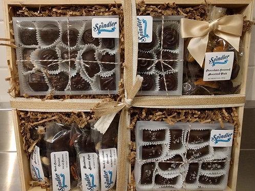 Dark Chocolate Gift Crate