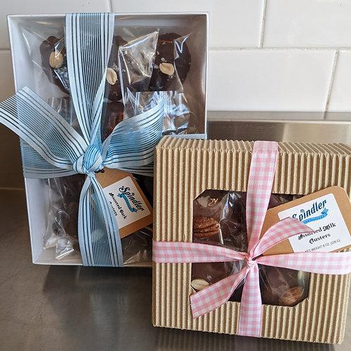Caramel Nut Clusters GiftBox