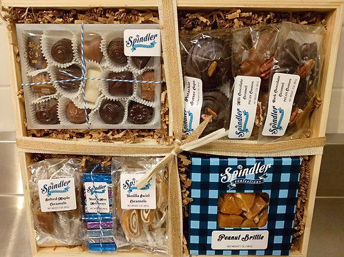 Chocolate & Candy Gift Crate